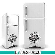 Black Butterfly Tree Design Self adhesive Sticker | Fridge, Wall Art Decor Decal