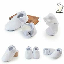 Newborn Boy Girls Cross Baptism Shoes Kids Christening Church Soft Soled Shoes