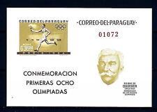 PARAGUAY - BF - 1963 - La cooperazione internazionale nello sport (II)