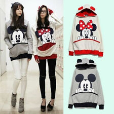 Kawaii Clothing Ropa Cute Mickey Minnie Hoodie Sweatshirt Cartoon Harajuku Japan