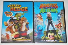 Kid DVD Lot - Over the Hedge & Monsters vs. Aliens (New) DreamWorks Animation