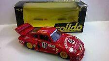 SOLIDO 1:43 DIE CAST CAR PORSCHE 935 RED ART 1032 USED