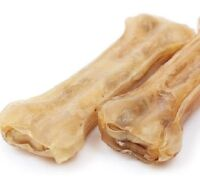 "HIDE KNUCKLE BONES - (8"" - 12"") - Rawhide Pork Dog Chew Feed Treat bp Food Snack"