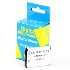Batería 670mAh EN-EL19 ENEL19 para Nikon Coolpix S4100 S2600 S3300