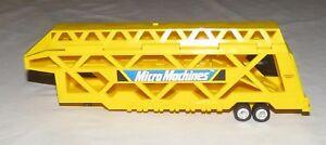 Galoob Micro Machines Car Carrier Hauler Transporter
