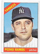 1966 Topps Baseball #439 - Pedro Ramos EXMT - Yankees