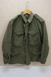 NORWEGEN TYP US ARMY WW2 Field Jacket M-1943 Feldjacke M43 Gr. 48/50 Medium #3