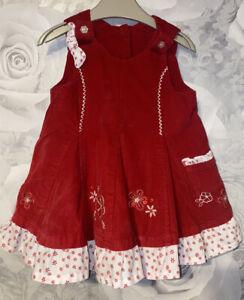 Girls Age 0-3 Months - Next Pinafore Dress