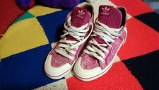 Adidas Originals (converse style) Trainers High Top Pink Paisley Hippie/Boho Uk4