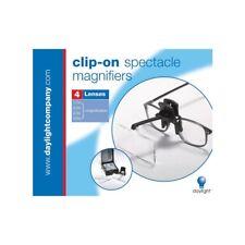 Clip-on Magnifying Glass - Black - Daylight Naturalight Starmag Clipon