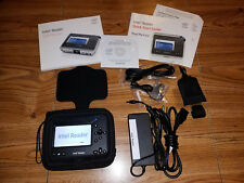INTEL HEALTH READER DIGITAL TEXT READER WITH SOFTWARE MANUAL CABLES CASE FREE SH
