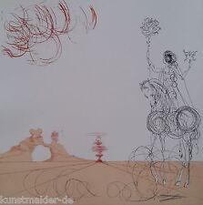Pièces de musée salvador dali Original Gravure 241: tourbillon-spirale
