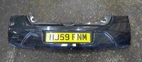 Renault Twingo 2007-2011 Rear Bumper Black 676