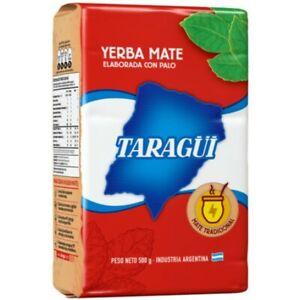 YERBA MATE TARAGUI 1 KILO/2.2 LBS CON PALO/WITH STEMS