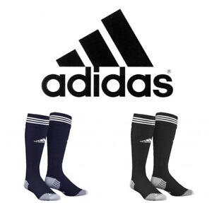 NEW ADIDAS ADISOCK FOOTBALL SPORTS SOCKS CUSHIONED BLUE OR BLACK SIZE UK 8.5-10