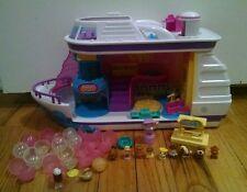 Squinkies Cruise ship Figure Disney cups Princess toys kids set lot collection