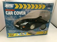 Maypole XL Breathable Water Resistant Fabric Car Full Cover MP9881 16ft+
