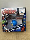 Marvel Avengers Captain America Flying UFO Ball New In Box Ages 6+ Great Gift