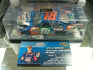 RARE! 2011 KYLE BUSCH M&M's PRETZEL RICHMOND WIN JOE GIBBS RACING TOYOTA CAMRY