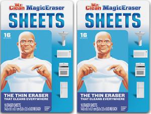 Mr. Clean Magic Eraser Sheets 2 Pack