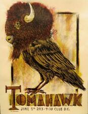 TOMAHAWK - Washington DC 2013 silkscreened poster by Dan Grzeca - MIKE PATTON