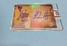 2015 Topps Tribute Auto Nolan Ryan Foundations of Greatness THEN-NR 17/25 METS