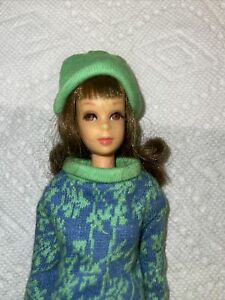 Vtg Francie Doll In #1170 Gad About Straight Body Bend Legs Very Nice