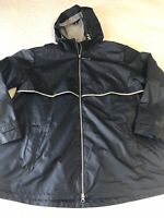 Charles River Apparel Women's New Englander Waterproof Rain Jacket Blue Size 3XL