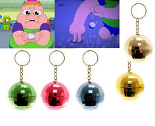 DISCO BALL KEYRING CLARENCE BOYS GIRLS GIFT PARTY BAG CHRISTMAS STOCKING FILLER