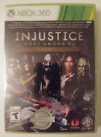 INJUSTICE GODS AMONG US - ULTIMATE EDITION - XBOX 360 NEW & SEALED