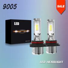 TURBO SII 9005 HB3 H10 9145 360°CSP LED Headlight Kit 12000LM Bulbs 6000K JLA