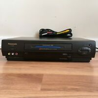 Panasonic VCR/VHS Video Cassette Recorder Player PV4662 with AV Cable, Tested