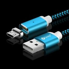 US 3/6/10FT Magnetic Charger Type C Micro USB Cable For Samsung S8 S7 S6 / Edge