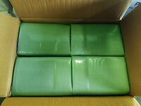 500 Green Patient Bibs 3-Ply Towels Polyback 18x13 for TATTOO DENTAL MEDICAL