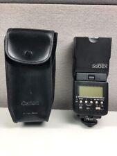 Canon Speedlite 550EX Shoe Mount Flash W/Case!!
