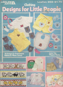 Loisirs Créatifs Livres : #1517 Petit Personnes Vêtements Croix Point