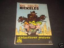 PELLOS LES PIEDS NICKELES N°32 DETECTIVES PRIVES COUVERTURE MAT EDITION DE 1964