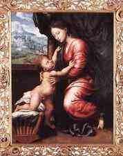 Hemessen Jan Sanders Van Virgin And Child A4 Print