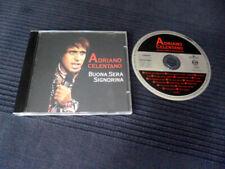 CD Adriano Celentano Buona Sera Signorina Best Of Greatest Hits Erfolge ARIOLA