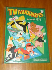TV FAVOURITES BRITISH ANNUAL BUGS BUNNY PORKY PIG TWEETY AND SYLVESTER 1976 VF