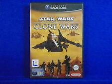 gamecube STAR WARS The CLONE Wars Action Adventure Game Nintendo PAL UK Version