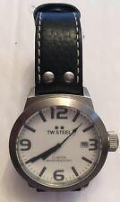 TW STEEL Watch TW620 White & Black Mens Watch Watch Quartz