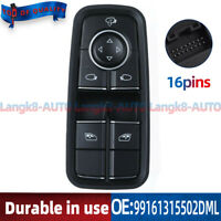Window Mirror Switch For Porsche 911 991 718 Boxster Cayman 99161315502DML New
