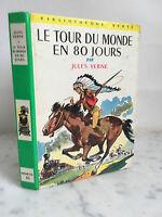 Il Tour Del Monde IN 80 Giorni Vernel Jules Libreria Verde 1947