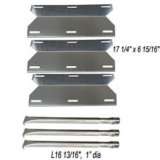 Grill Replacement Burners & Heat Plates Charmglow Home Depot 3 Burner 720-0230