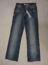 Faded Regular Size Low Rise Boyfriend Jeans for Women