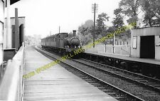 Castle Bar Park Railway Station Photo. West Ealing to Greenford & Perivale. (2)