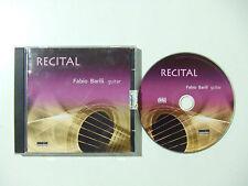 Fabio Barili – Recital - CD Audio Stampa ITALIA 2012  Pop / Classica