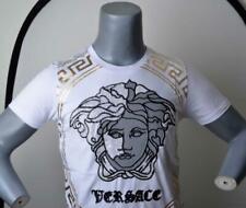 Men's Dress Shirt Versace Collection Jeans medusa Versus White Size Sz. S