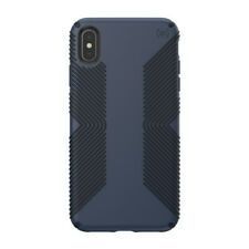 Speck Presidio Grip Case Cover for Apple iPhone Xs iPhone X Max Blue/Black